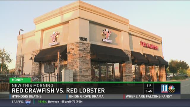 Red Crawfish vs Red Lobster