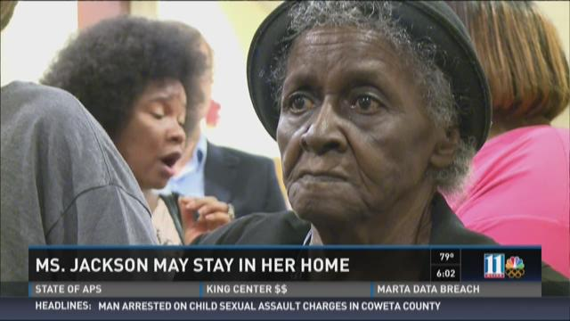 Ms. Jackson may stay in her home
