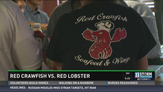 Red Crawfish vs. Red Lopster
