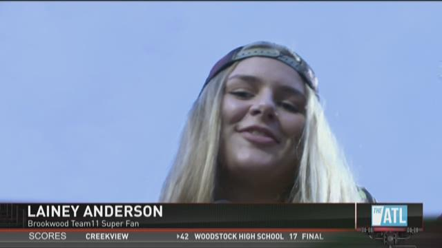 Brookwood Team11 Fan of the Week: Lainey Anderson