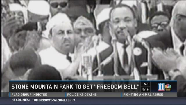 Stone Mountain Park to get 'Freedom Bell'