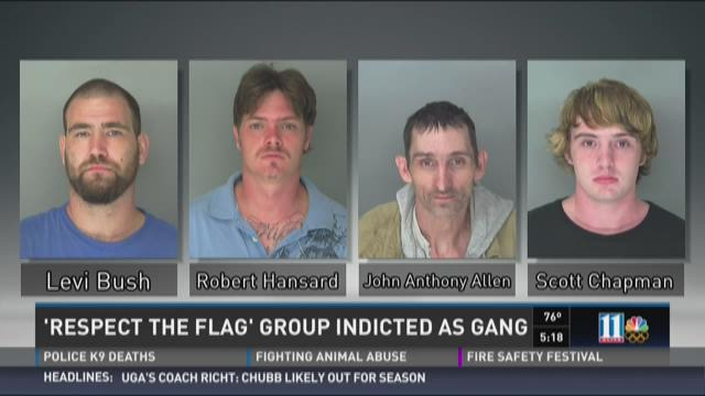 'Respect the Flag' group indicted as gang