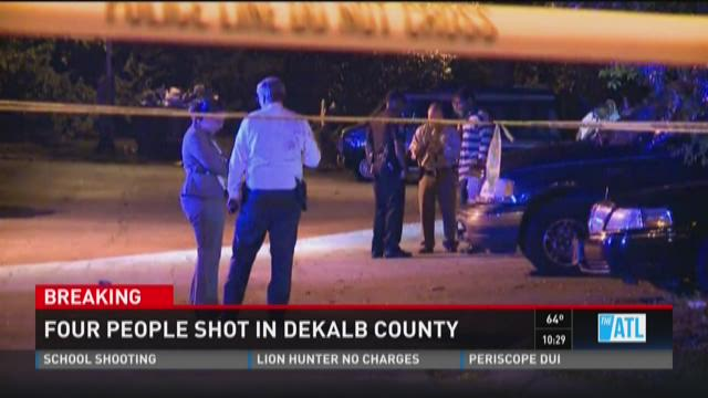 Child among four shot in DeKalb County