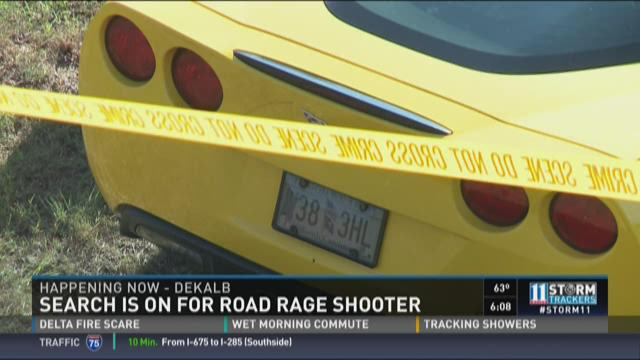 Search is on for road rage shooter