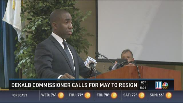 DeKalb commissioner calls for Lee May to resign