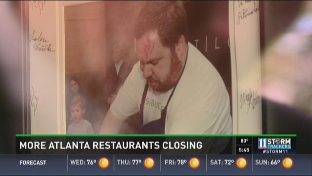 More Atlanta restaurants closing