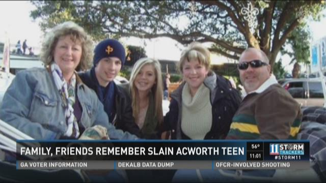 Family, friends remember acworth teen